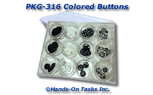 Colored Buttons Packaging Activity