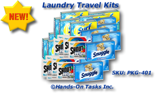 Laundry Kit Packaging Activity