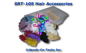 Hair Accessories Sorting Activity