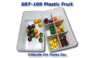 Plastic Fruit Sorting Activity