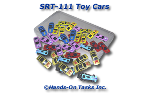 Toy Cars Sorting Activity