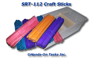 Craft Stick Sorting Activity