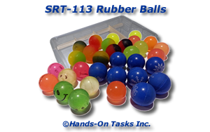 Rubber Ball Sorting Activity