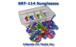 Sunglasses Sorting Activity