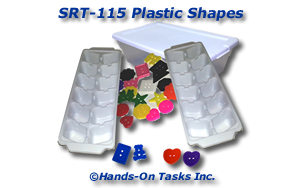 Plastic Shapes/Buttons Sorting Activity