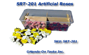 Sorting Activity - Artificial Roses
