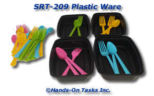 Plastic Ware Sorting Activity