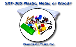 Plastic, Metal, or Wood Sorting Activity