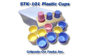 Stacking Plastic Cups Activity