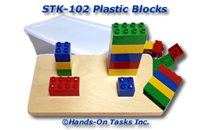 Stacking Lego Blocks Activity