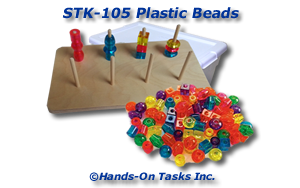 Stacking Plastic Beads Activity