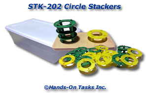 Stacking Plastic Rings Activity
