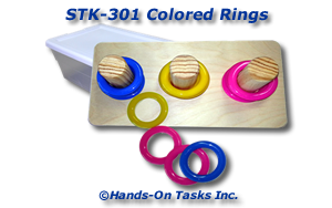 Stacking Cane Rings Activity