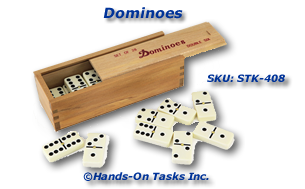 Domino Stacking Activity