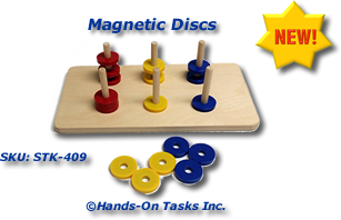 Magnetic Discs Stacking Activity