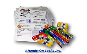 Package Office Supplies Job Training Activity