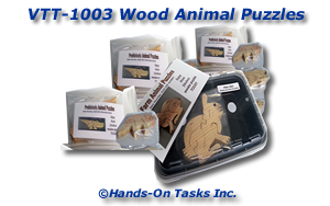 Wooden Animal Assembly Activity
