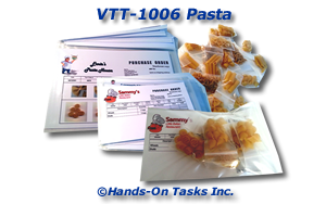 Pasta Packaging Activity