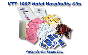 Hotel Hospitality Kit Packaging Activity