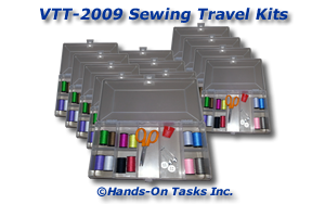 Sewing travel Kit Packaging Activity