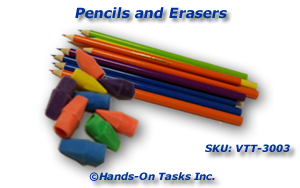 Pencils and Erasers Put-On Activity