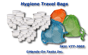 Hygiene Travel Jar Packaging Activity