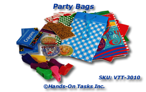 Party Bag Packaging Activity