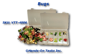 Plastic Bug Sorting Activity