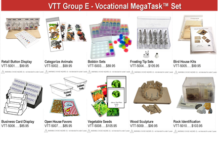 Vocational MegaTasks Group E
