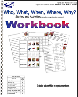 Who, What, When, Where, and Why Workbook Task